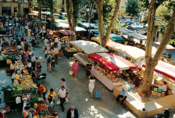 les produits des-marchés de Provence