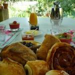 Petit déjeuner Mas de la Chouette 4