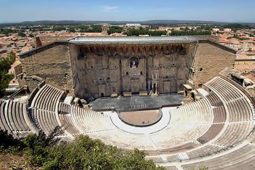 Théâtre Antique Romain de la ville d'Orange