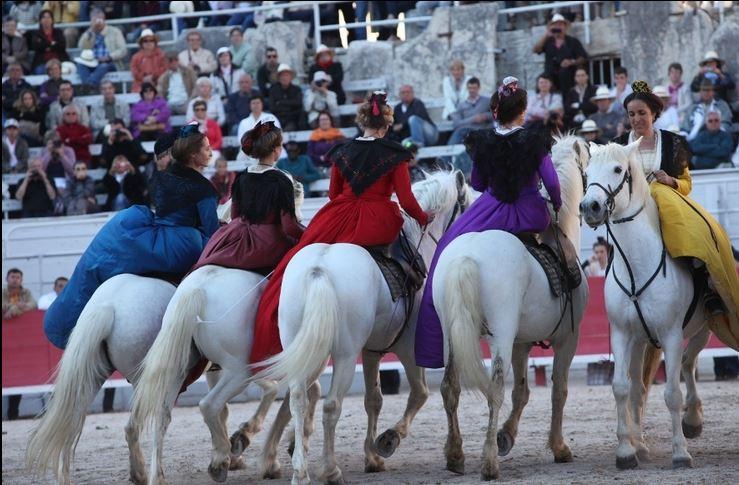 fête des gardians en Arles