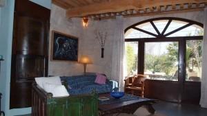 Deco living room Blue cottage le mas de la chouette