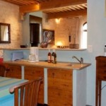 Kitchen Blue cottage le mas de la chouette