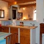 Kitchen Blue cottage le mas de la chouette
