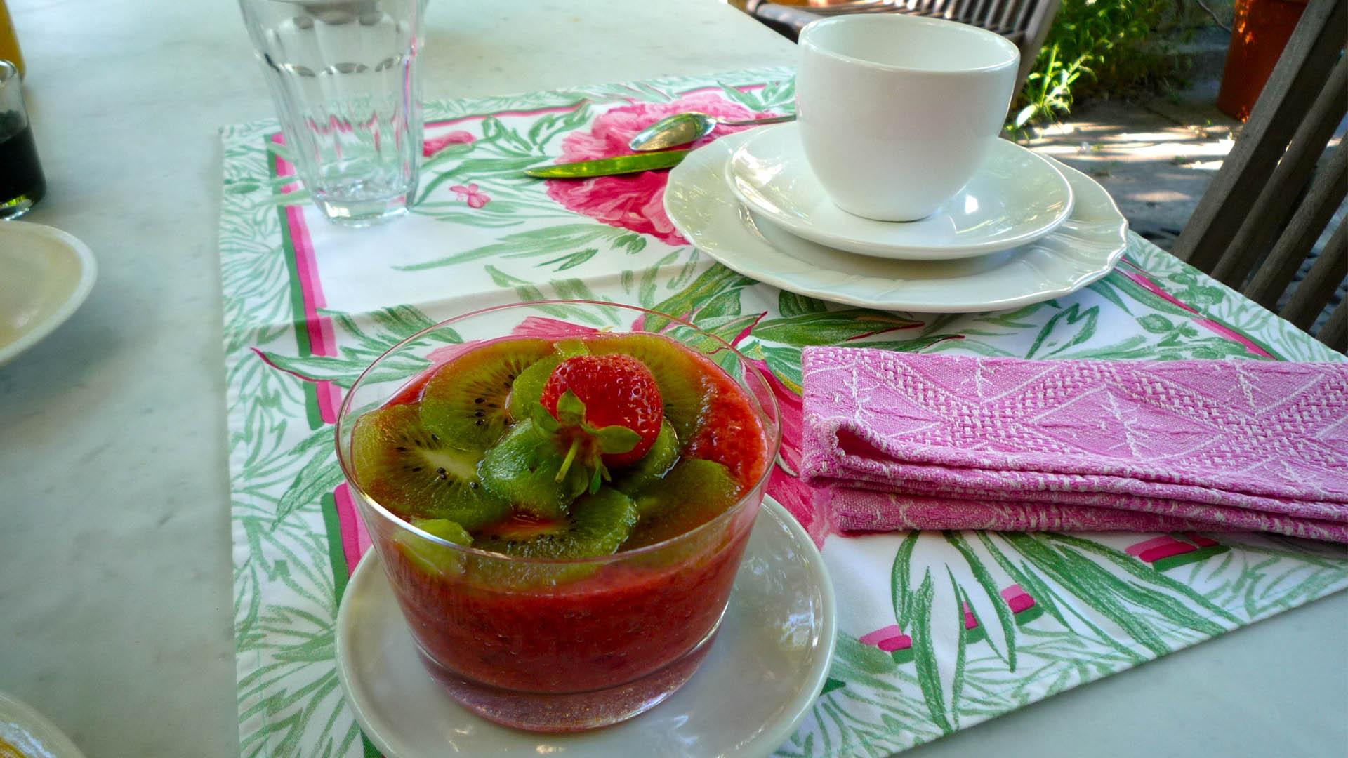 Petit déjeuner continental Mas de la Chouette 3