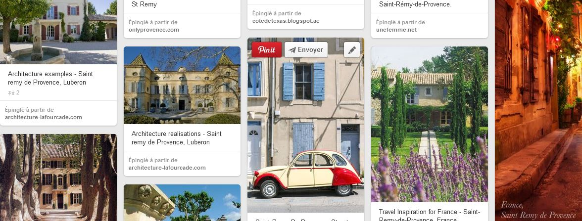 Photos Pinterest sur Saint Rémy de Provence