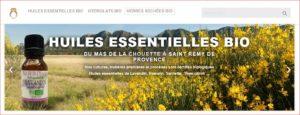 Accueil Boutique Huiles essentielles et produits Bio Mas de la Chouette