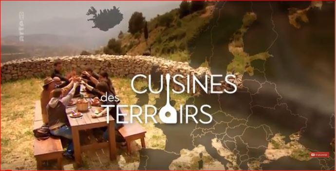 Cuisine des terroirs sur Arté Provence